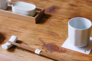 箸帯や食器類の提案